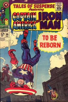 Tales of Suspense #96, Captain America