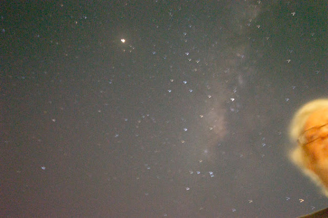 Milky Way as seen on the Red Sea, Gulf of Aden, DSLR, 18mm, 135 seconds, Sept. 2018 (Source: Palmia Observatory)