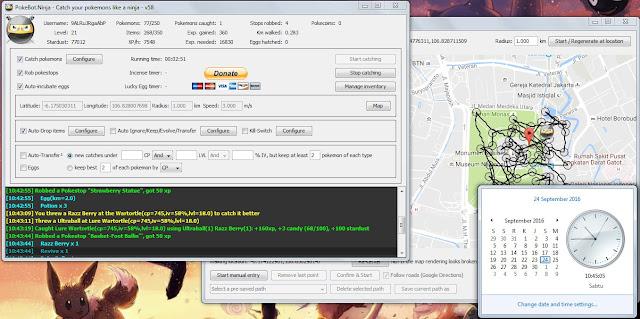 Download dan Update PokeBot Ninja V58: Bot Pokémon GO Terbaru Untuk PC/Laptop (Work September)