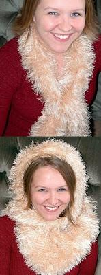 Knifty Knitter Magic Fun Fur Scarf