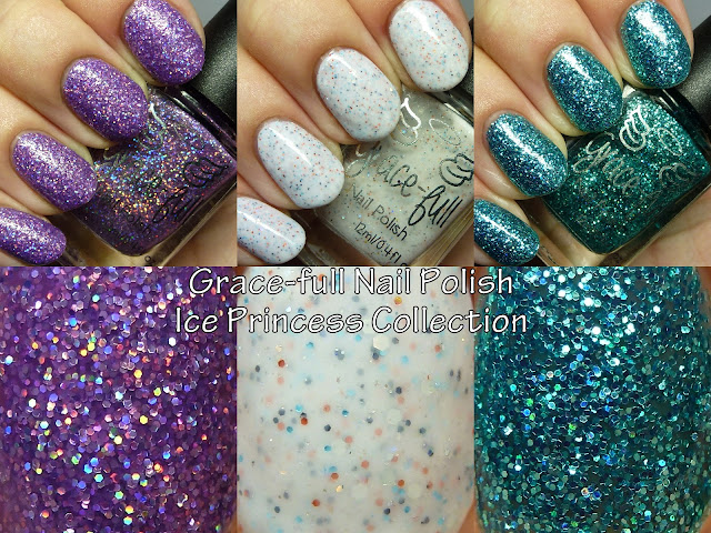 The Polished Hippy: Grace-Full Nail Polish Ice Princess Collection ...