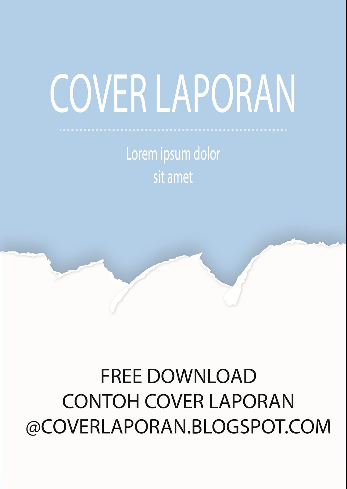 3d Home Design Download Cover Laporan Biru Putih - Download Contoh Cover
