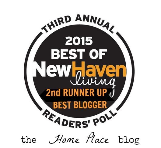 New Haven Living Best Blogger 2nd runner up