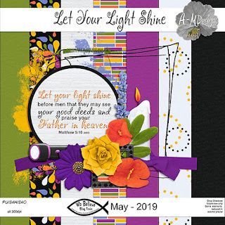 We Believe Blog Train - May 2019 - Let Your Light Shine
