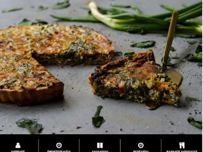 Συνταγή της Ημέρας: Quiche με σπανάκι και ψητές πιπεριές