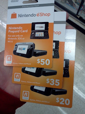 New Nintendo Network Prepaid Cards