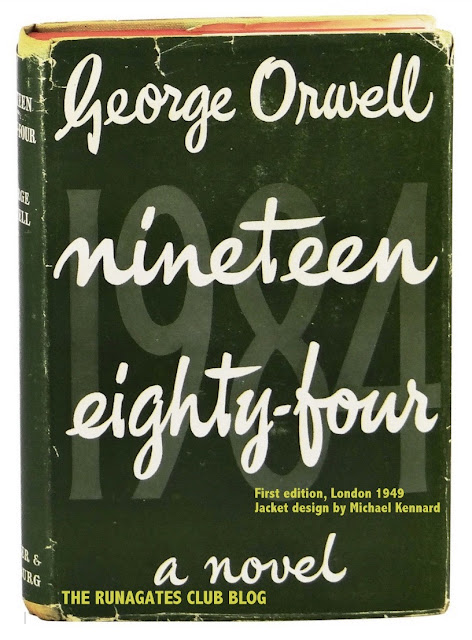 Nineteen Eighty-four by George Orwell, First edition, London 1949