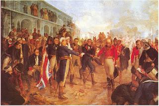 """""""La Reconquista de Buenos Aires"""", por el pintor francés Charles Fouqueray"""
