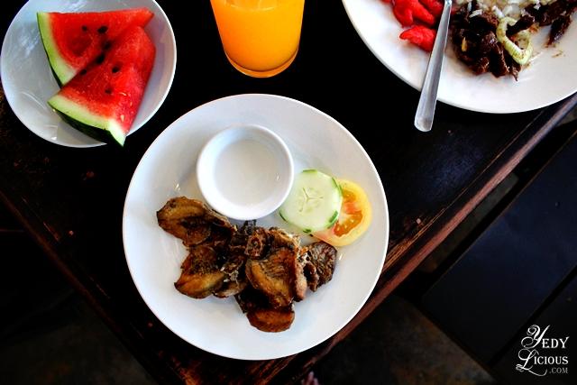 Special Fish Danggit at the Breakfast Buffet of Skylight Hotel Puerto Princesa Palawan