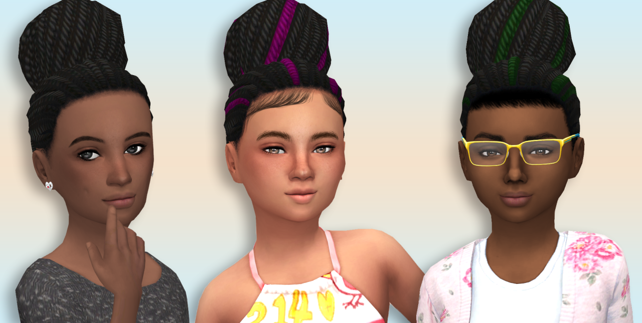 Cc Childs Hair Sims 4 | sims 4 cc s the best hair for kids