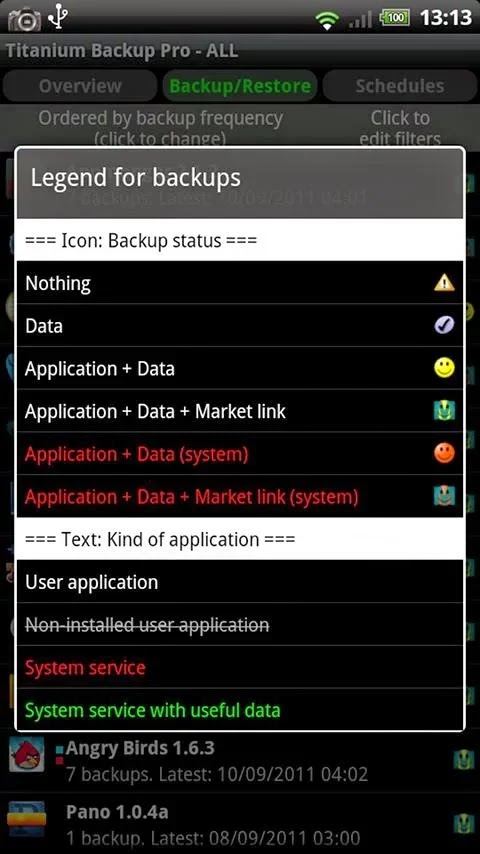 Titanium Backup Pro v6.2.0.3 Patched