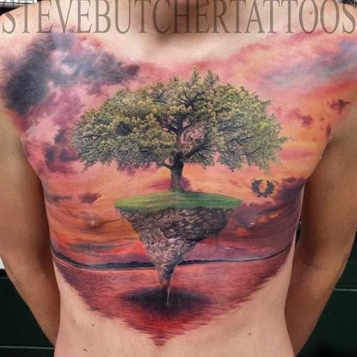Esta árvore flutuante