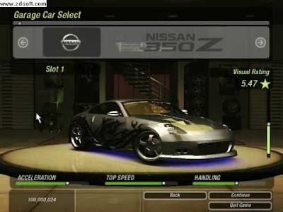 Kode Cheat Need for Speed Underground 2 Lengkap