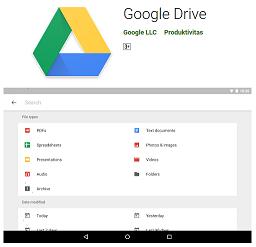 Aplikasi Penyimpanan Online Google Drive