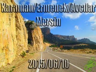 2015/06/10 Buralarda geziyorum bisiklet turu (BGBT) 27. Gün (Karaman/Ermenek/Avcılar - Mersin)