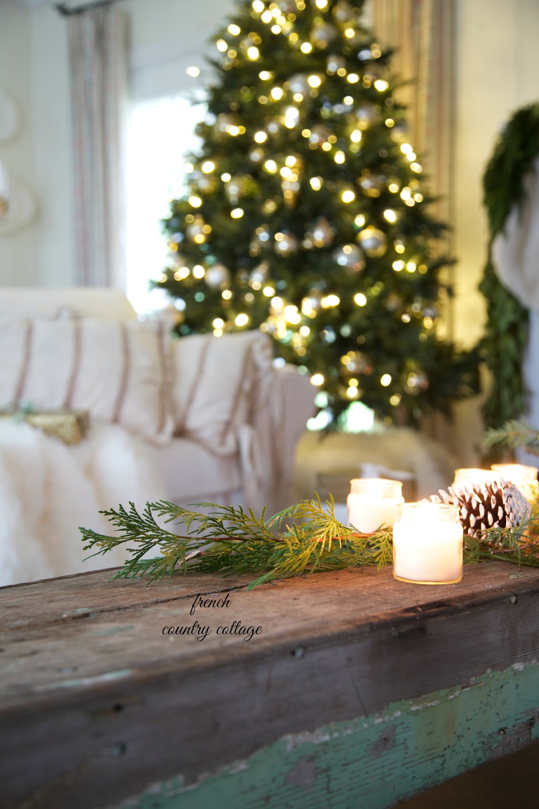 French Country Cottage Christmas Home Tour French