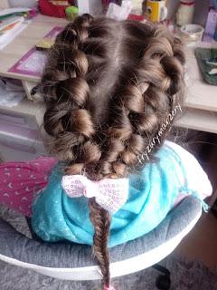 Infinity-warkocz infinity-warkocz klos-fryzury dla dziewczynek
