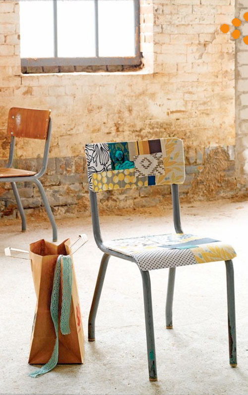 natural modern interiors: Recycled Chairs :: Stackable Old ...