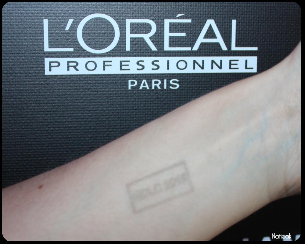 tampon Nuit de la coiffure de l'Oréal Professionnel