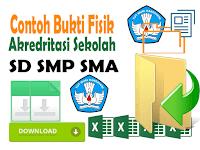 Kumpulan Contoh File Akreditasi Sekolah Lengkap Format Excel