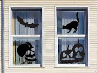 Halloween Window Decals and Stickers