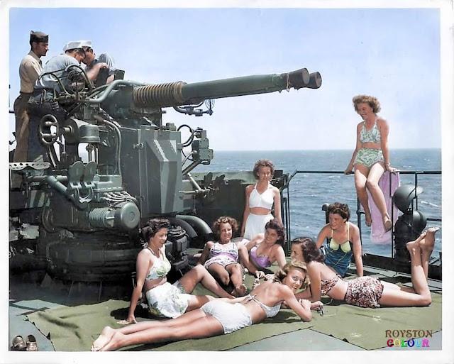 U.S. Army nurses color photos of World War II worldwartwo.filminspector.com