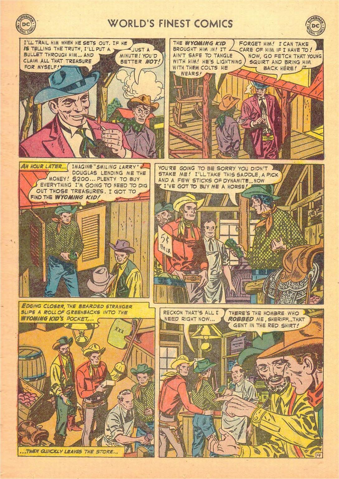 Read online World's Finest Comics comic -  Issue #58 - 32