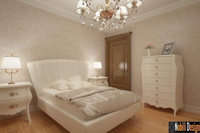 Design interior dormitor clasic de lux casa Bucuresti - Design Interior - Amenajari Interioare