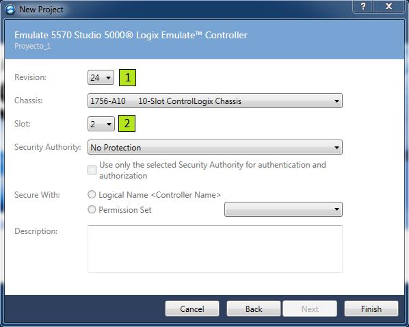 Configurar el PLC Studio 5000