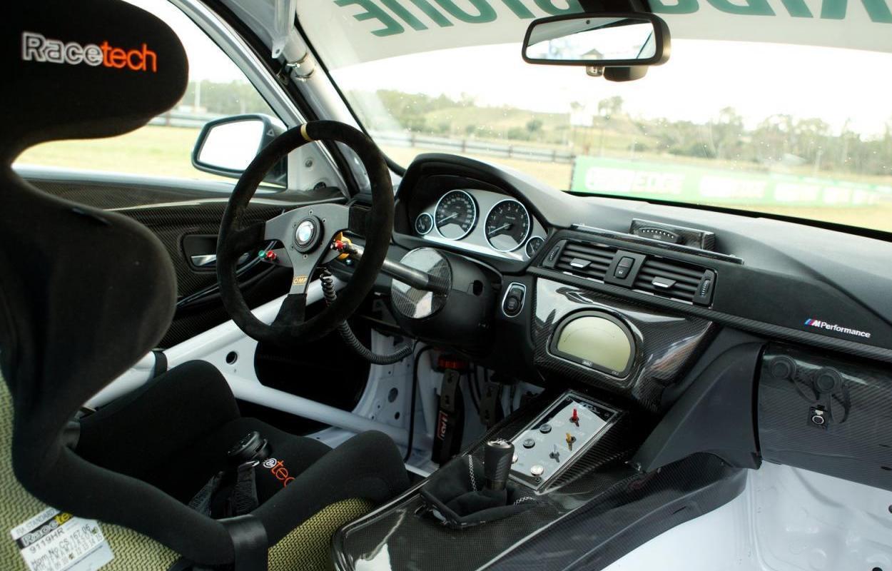 First BMW 335i Race Car
