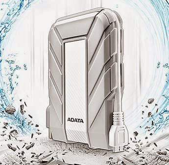 ADATA HD710A Announced, Waterproof Dust-proof Shock-Resistant External Hard Drive for Mac