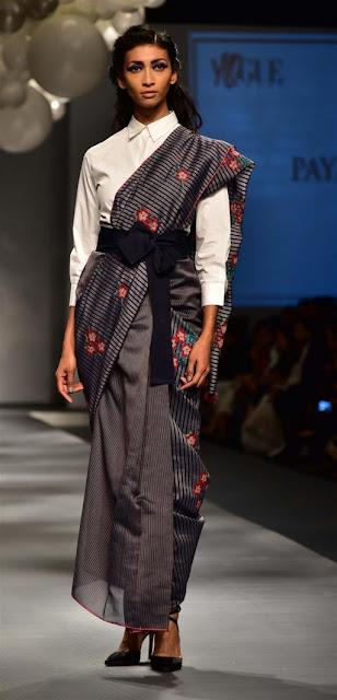 Saree 24/7 Amazon India Fashion Week 2017
