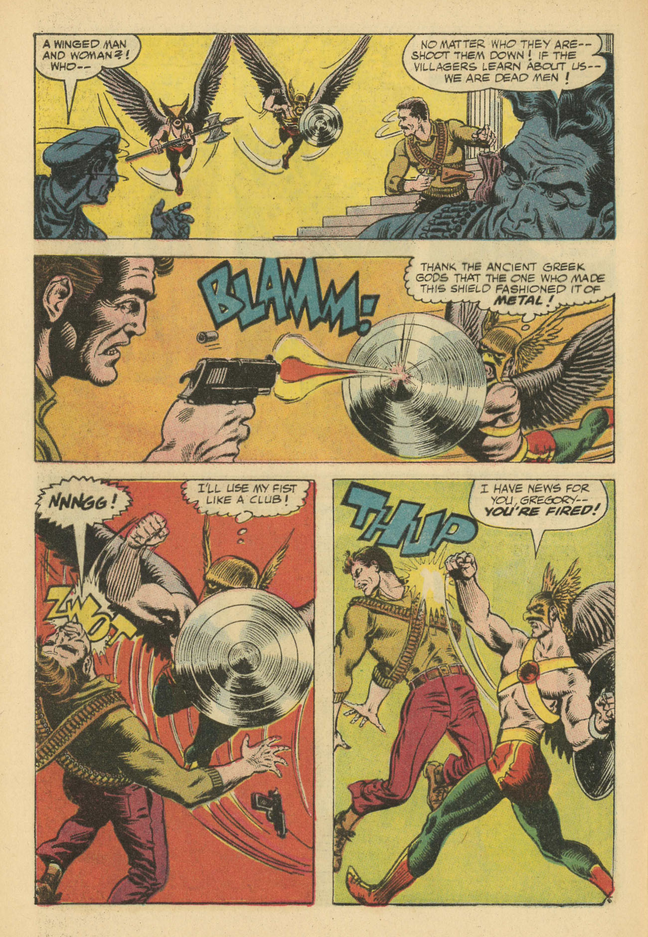 Hawkman (1964) issue 20 - Page 8