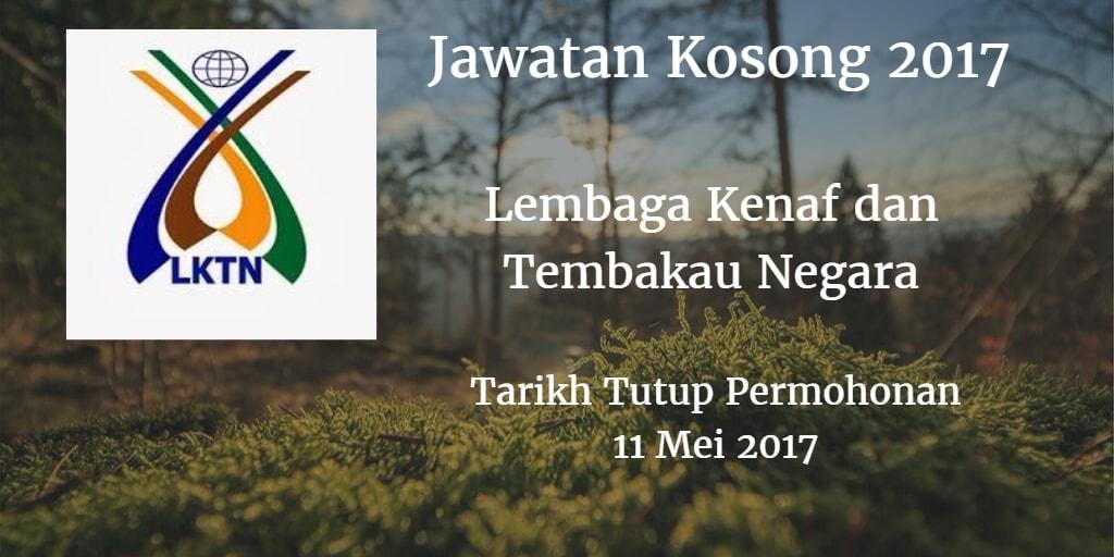Jawatan Kosong LKTN 11 Mei 2017