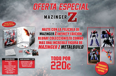 "Oferta especial ""Mazinger Z Infinity"" + Figura - SelectaVision"