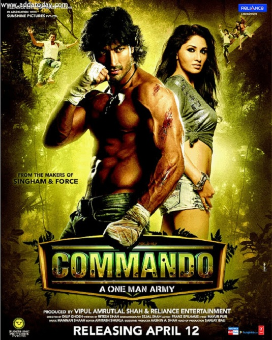 Download Commando - A One Man Army Full Movie