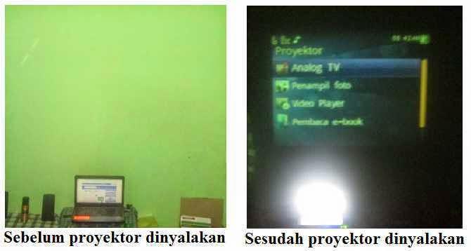 Proyektor HP IMO W909