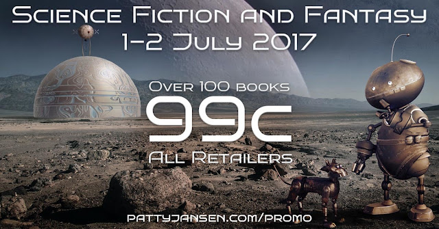 SCIENCE FICTION AND FANTASY SALE! OVER 100 BOOKS FOR $.99, Patty Jansen, Juli D. Revezzo