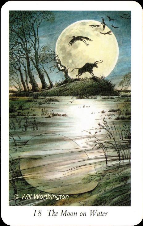 Image result for wildwood tarot moon over water