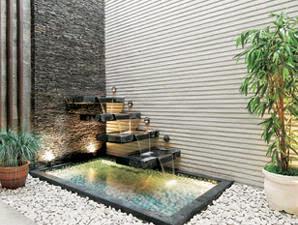 contoh dan desain kolam ikan minimalis di rumah