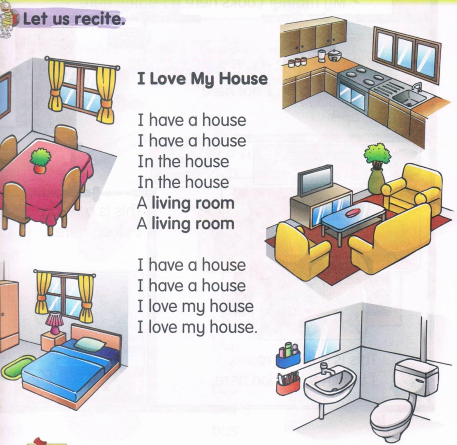 Happy English Site Unit 10 My House