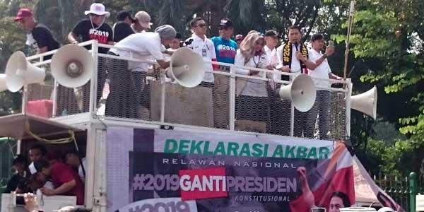 Mardani Disarankan Buat Deklarasi Akbar #2019GantiPresiden di Jakarta