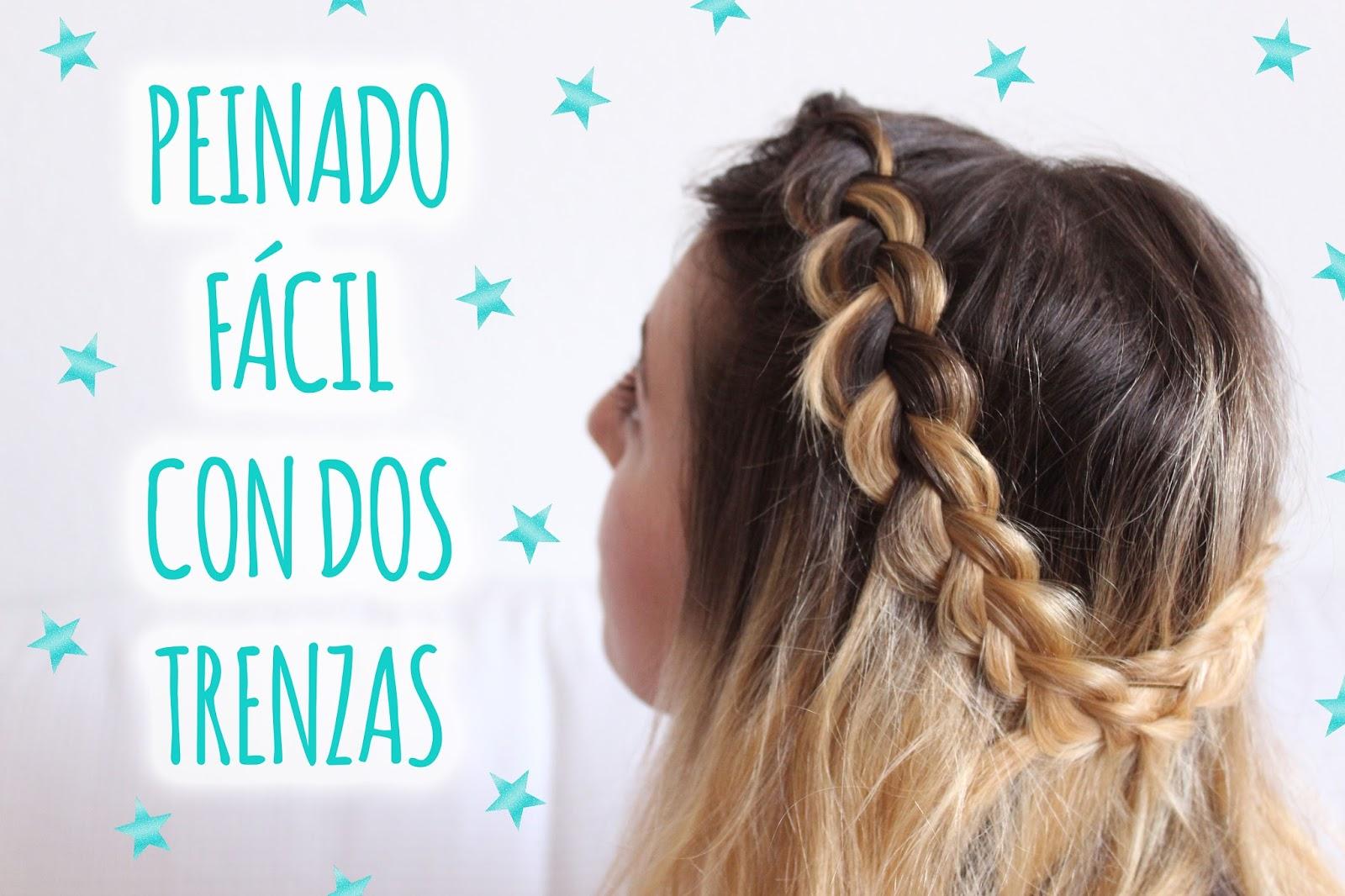 Charada Peinado Semirecogido Con Trenza Paso A Paso - Peinado-semirecogido-con-trenza