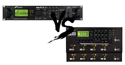 Fractal Audio Axe Fx II XL+ Vs. AX8