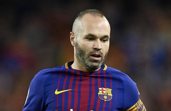 Barcelona's midfield Andrés Iniesta is set to leave Barcelona