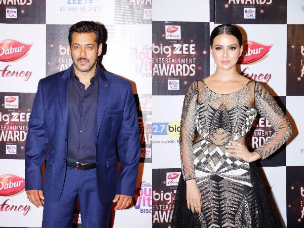 Salman Khan And Sana Khan HD Image
