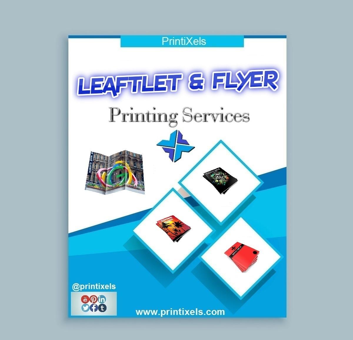 Leaflet & Flyer Printing Services
