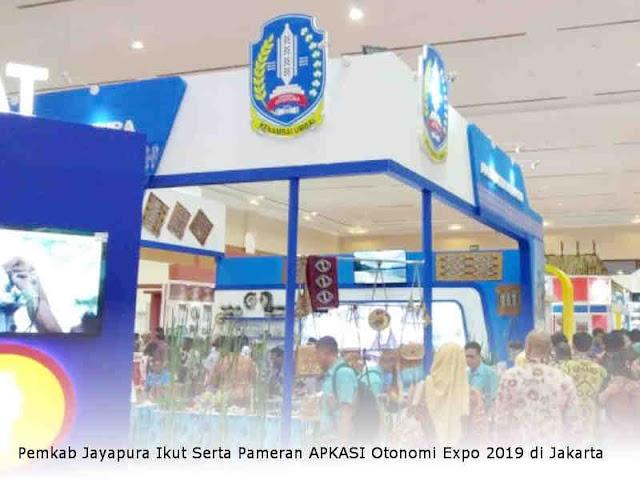 Pemkab Jayapura Ikut Serta Pameran APKASI Otonomi Expo 2019 di Jakarta