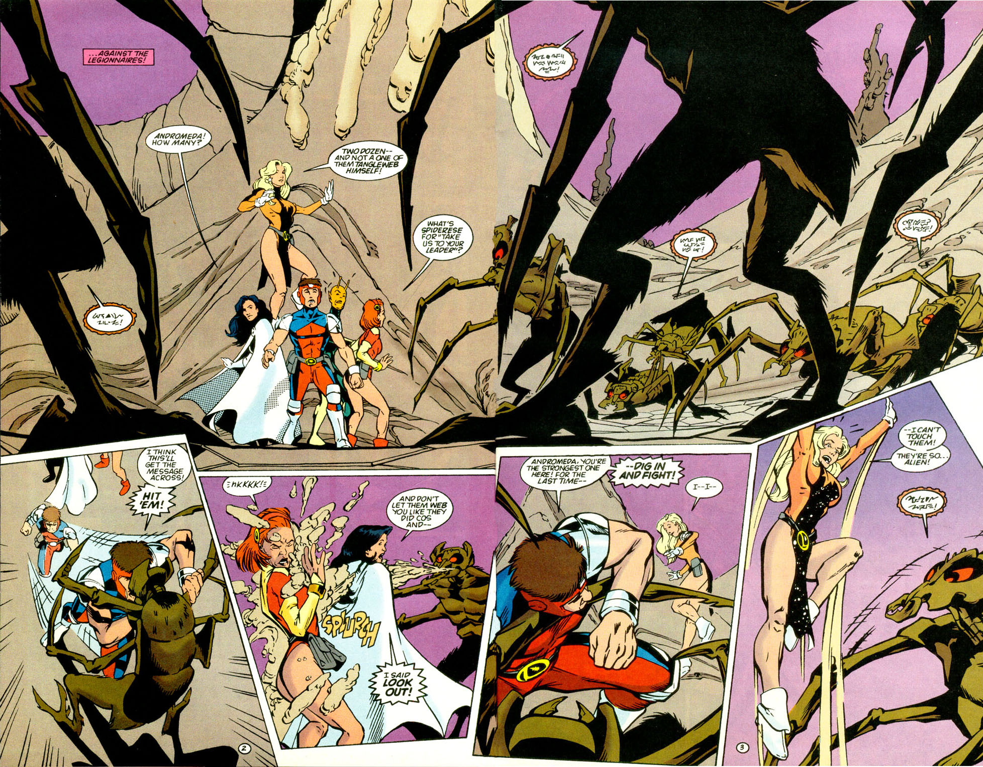 Legion of Super-Heroes (1989) 68 Page 2