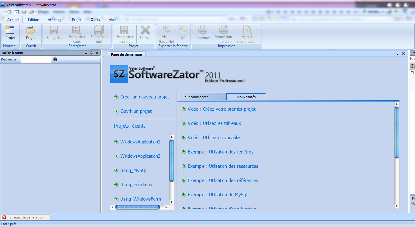 softwarezator 2011 edition professionnel
